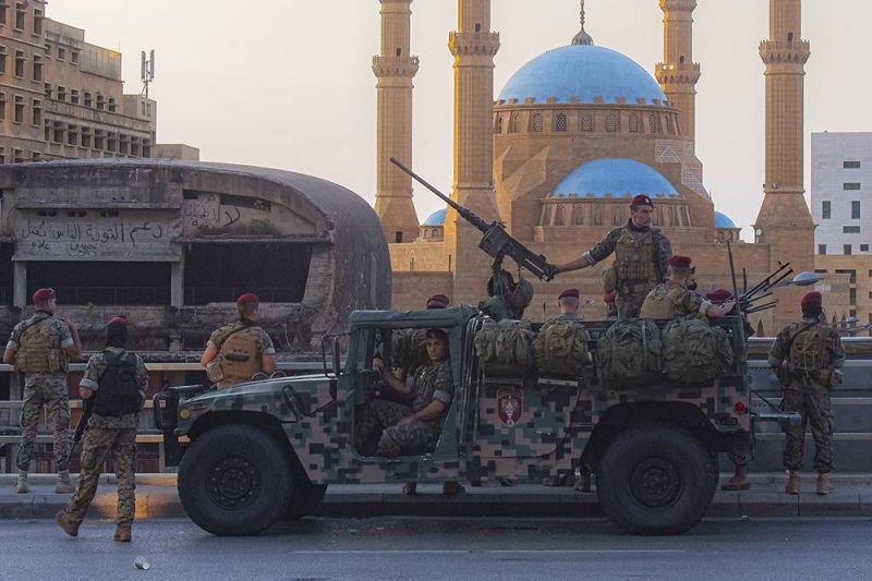 Les Occidentaux font le pari de l'armée libanaise