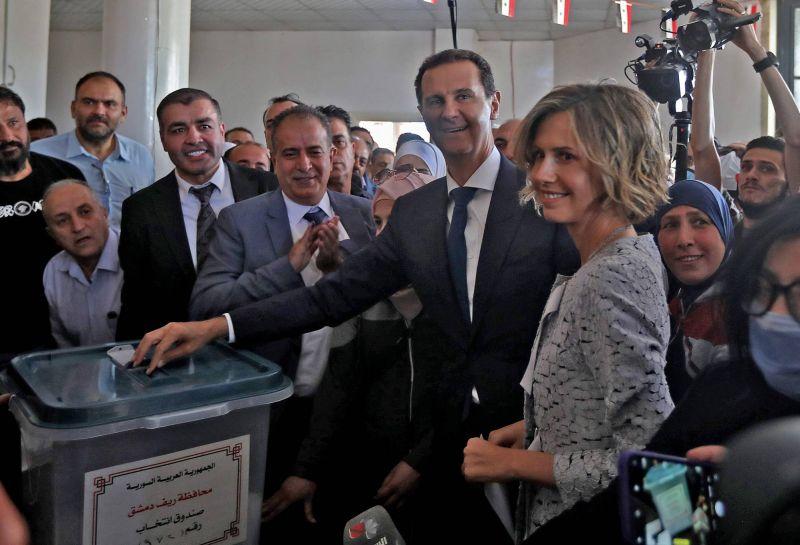 Une présidentielle sans suspense pour un quatrième mandat Assad