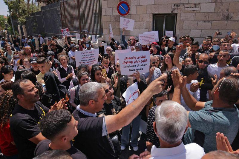 Report d'une audience sur l'expulsion de familles palestiniennes à Jérusalem