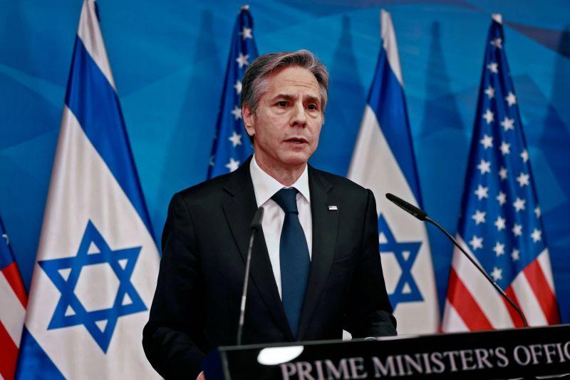 A Jérusalem, Blinken veut éviter que le Hamas