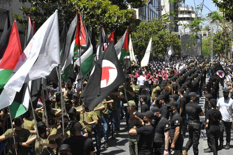What is left of Lebanon's Syrian Social Nationalist Party?