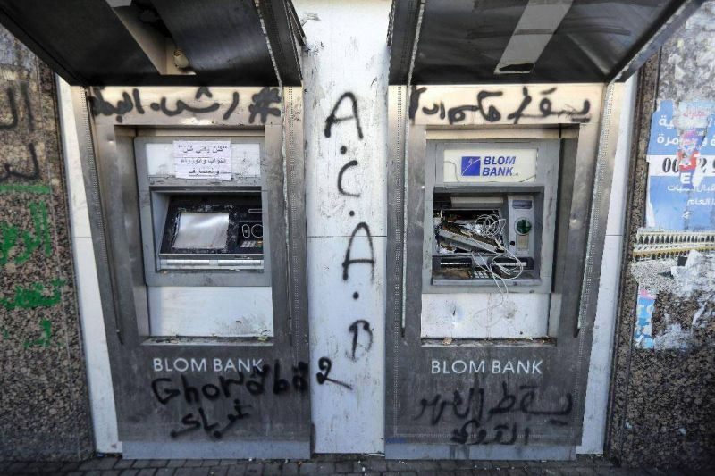 A bail-in for Lebanese bank depositors is 'highly likely,' S&P says