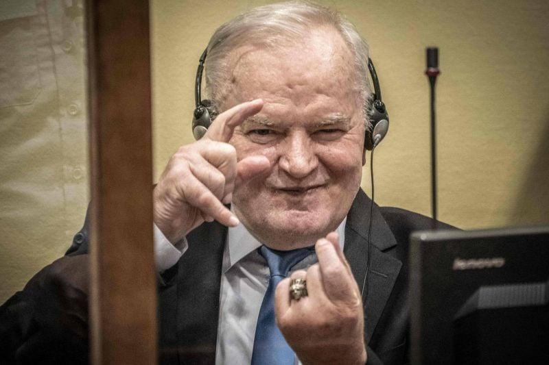 La justice internationale confirme la condamnation à perpétuité de Ratko Mladic