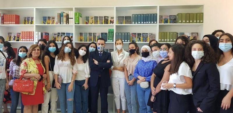 L'Italie a désormais sa bibliothèque à l'UL