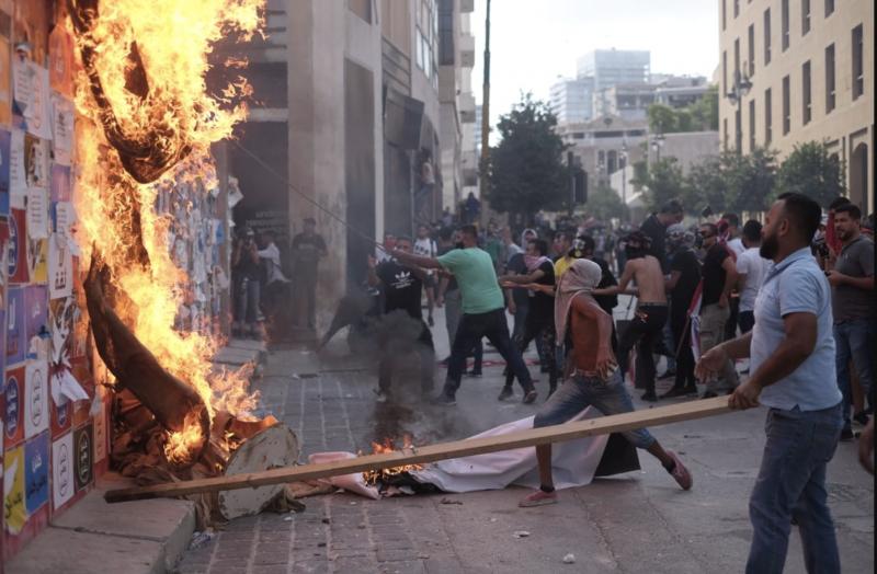 À Beyrouth, la rue Allenby à bout de souffle