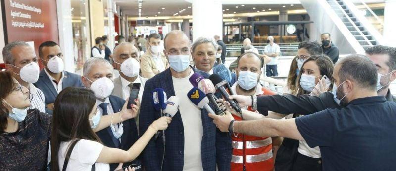 Le Liban inaugure un méga centre de vaccination, six décès en 24h