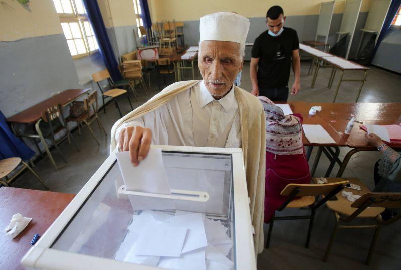 A Alger, des élections législatives sans engouement