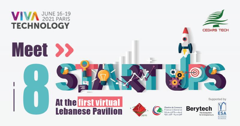 Huit start-up libanaises présentes au VivaTech 2021