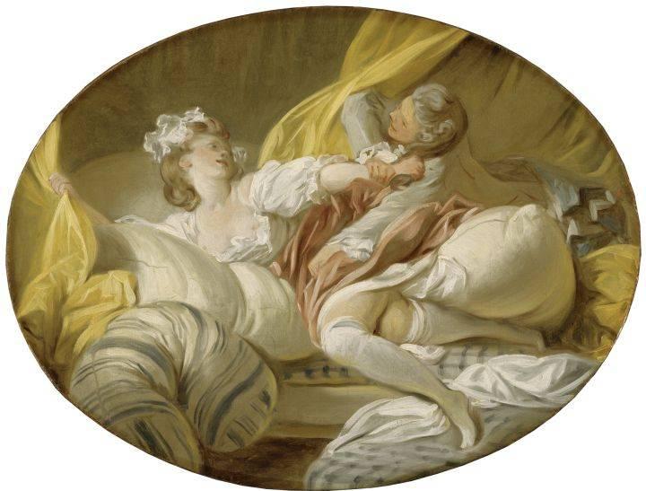 «L'Empire des sens»: désir et plaisir dans les peintures du XVIIIe siècle