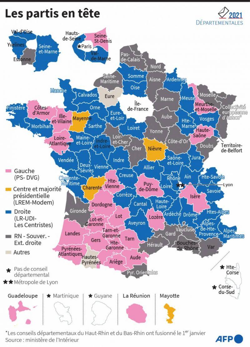 L'échec de Macron et Le Pen aux régionales, possible avertissement pour 2022