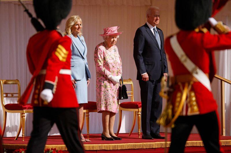 Un thé avec la reine Elizabeth II pour Joe Biden avant de quitter le Royaume-Uni