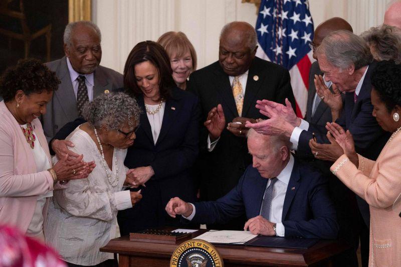 156 ans après, un jour férié pour marquer la fin de l'esclavage aux Etats-Unis