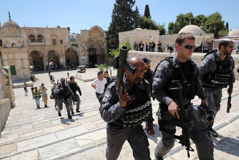 Heurts à Jérusalem-Est : dix Palestiniens arrêtés par la police israélienne