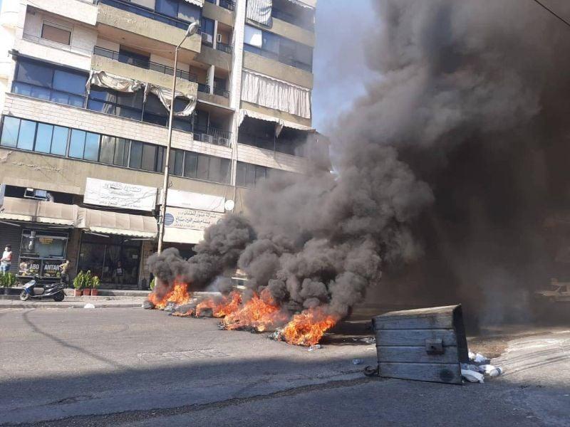 Fermeture de routes dans le Nord et à Saïda contre les répercussions de la crise