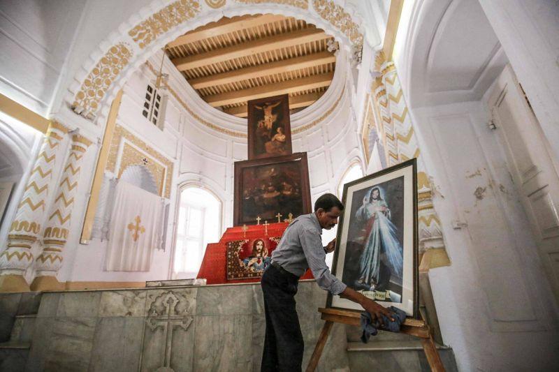 Un hindou pour ange gardien de l'église arménienne de Dacca