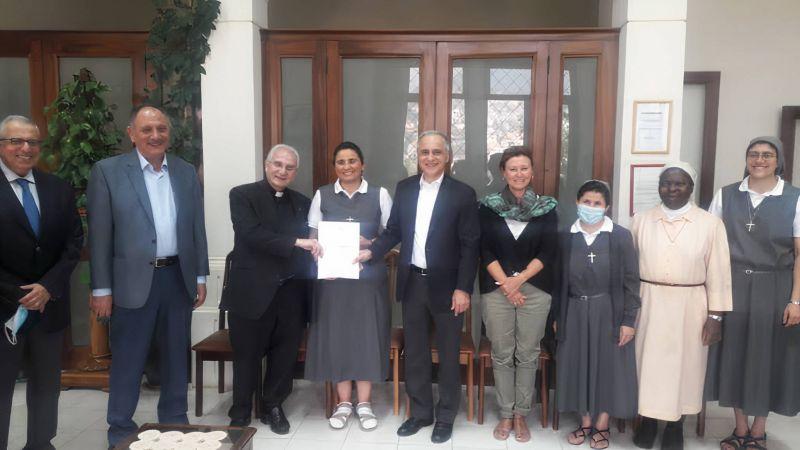 L'Église évangélique luthérienne de Württemberg couvre les frais de scolarité des élèves d'une école à Baskinta