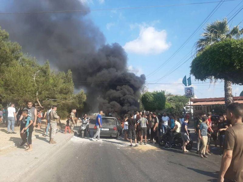 Fermeture de routes à Saïda et Tripoli
