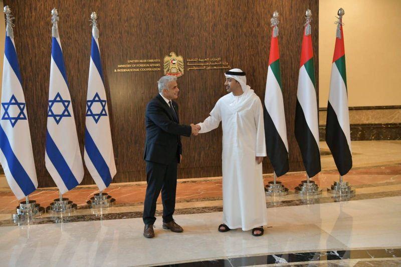 Israël et Abou Dhabi s'installent dans leur union