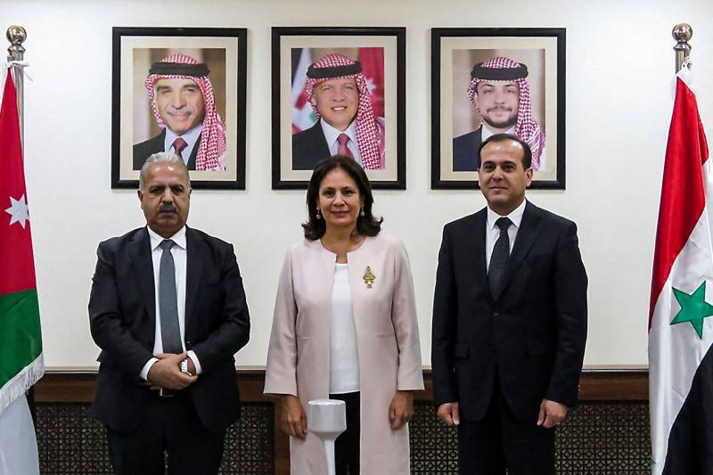 Première visite à Amman depuis 2011 deux ministres syriens de l'Energie