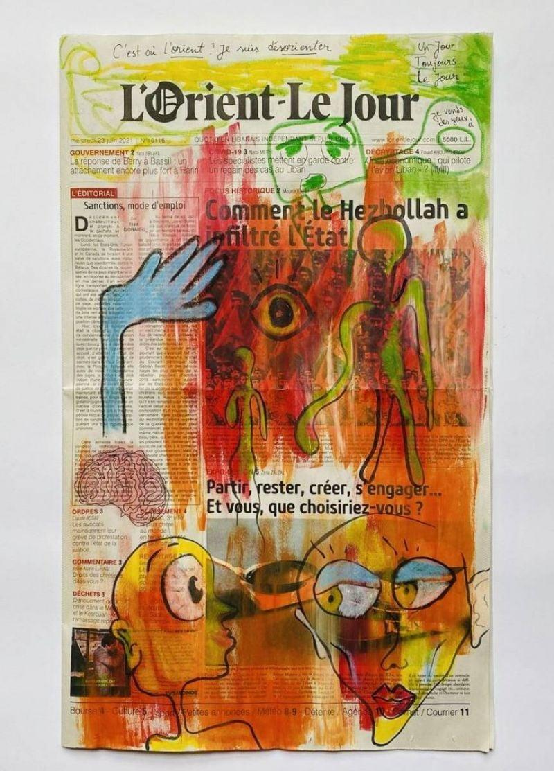 Quand «L'Orient-Le Jour» inspire les artistes-psychologues...