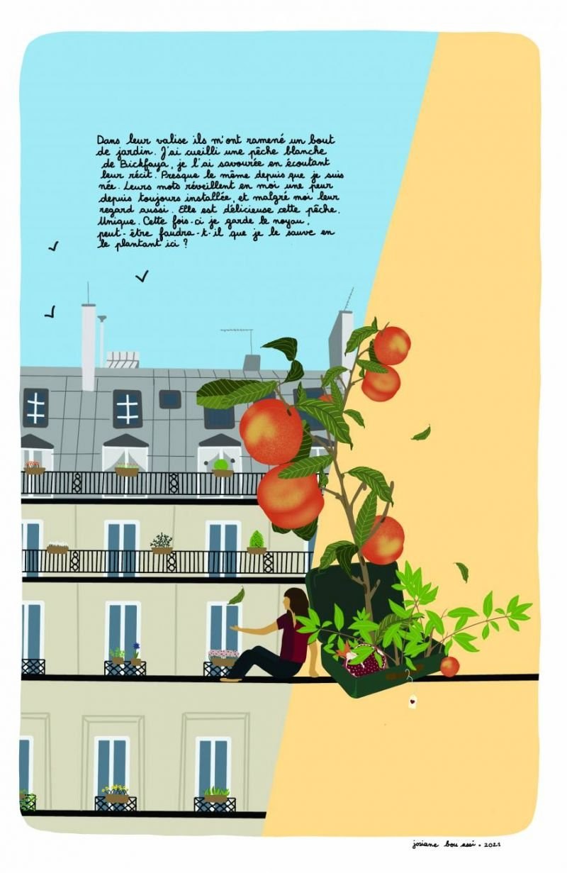 L'illustrastion de Josiane Bou Assi