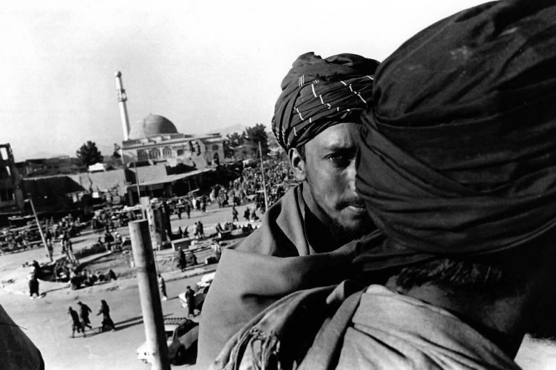 Edward Grazda et l'Afghanistan avant l'arrivée des troupes US
