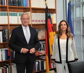 Devant Acar, des responsables allemands réitèrent la volonté de Berlin d'aider le Liban