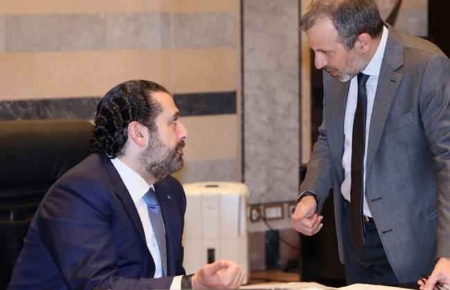 Scepticisme après l'ouverture en demi-teinte de Bassil à Hariri