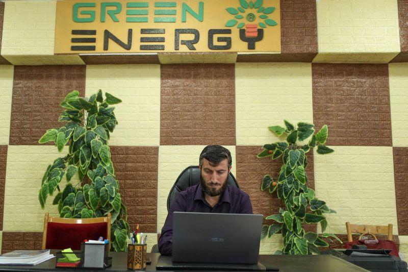 Dans le nord-ouest de la Syrie, on s'éclaire à l'électricité turque