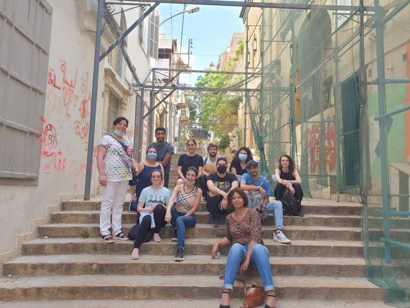Le motif des ruines inspire les étudiants de l'USEK et de l'ENSATT