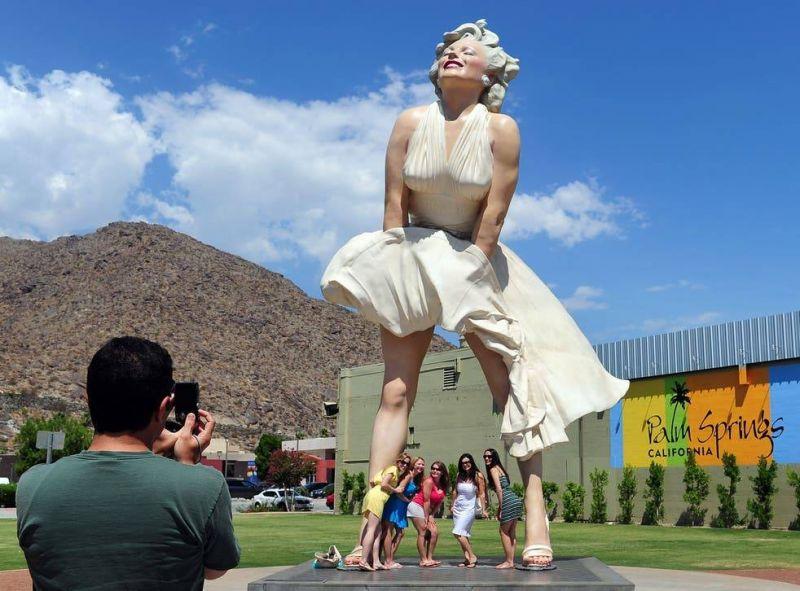 Haro sur «Forever Marilyn»