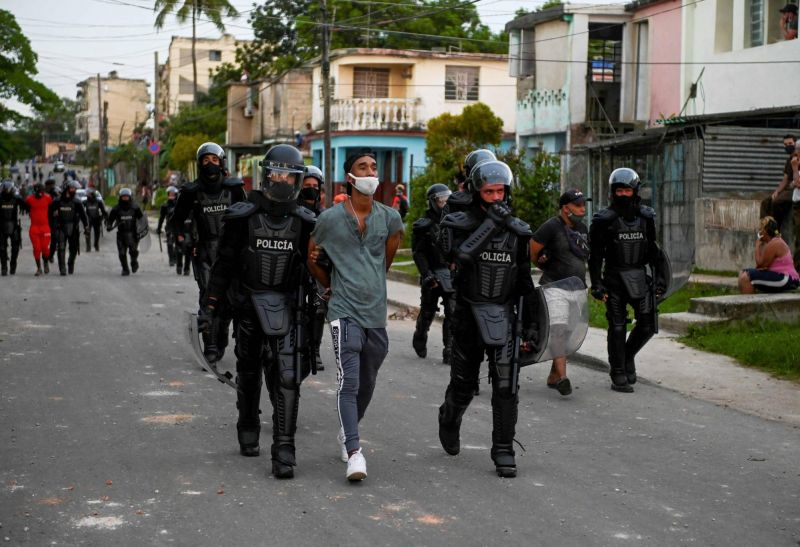 Face aux critiques de Washington, Cuba nie toute «explosion sociale»