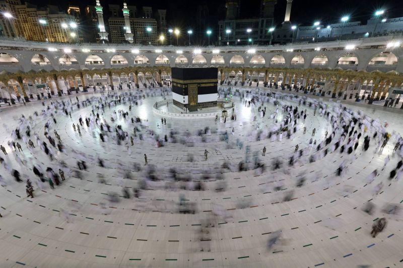 Le grand pèlerinage de La Mecque à l'ombre du Covid