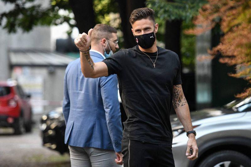 Giroud, le «phénix» à la tête haute renaît à Milan