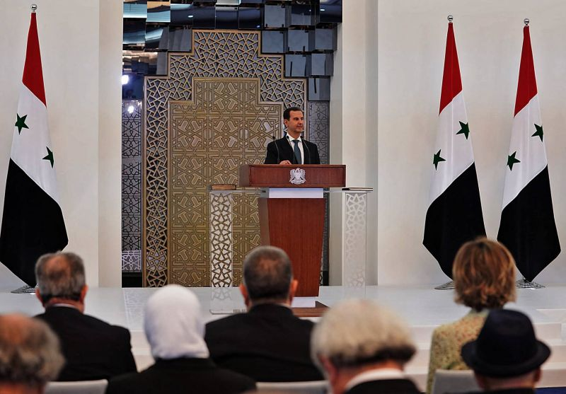 Assad says funds frozen in Lebanese banks are the biggest impediment to investment in Syria