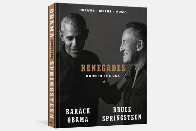 Les conversations entre Obama et Springsteen éditées en livre en octobre