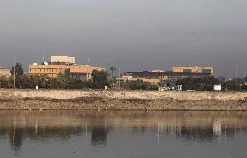 Deux roquettes tirées à l'aube près de l'ambassade américaine à Bagdad