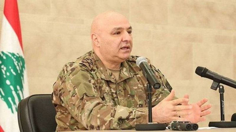 Le général Joseph Aoun reçu par Sissi au Caire