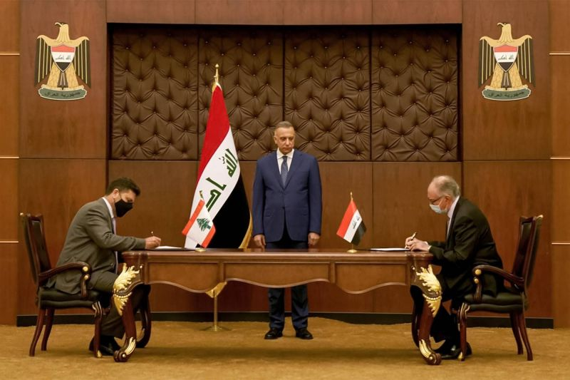 Lebanon signs deal to import 1 million tons of Iraqi fuel for electricity
