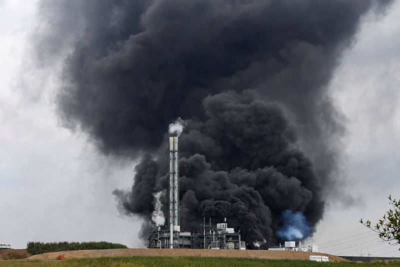 Explosion mortelle sur un site de traitement des déchets