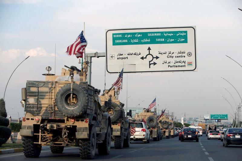 Attaque au drone contre une base abritant des Américains au Kurdistan