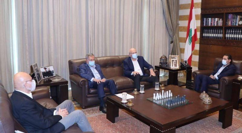 Les ex-Premiers ministres se concertent à la veille des consultations contraignantes à Baabda