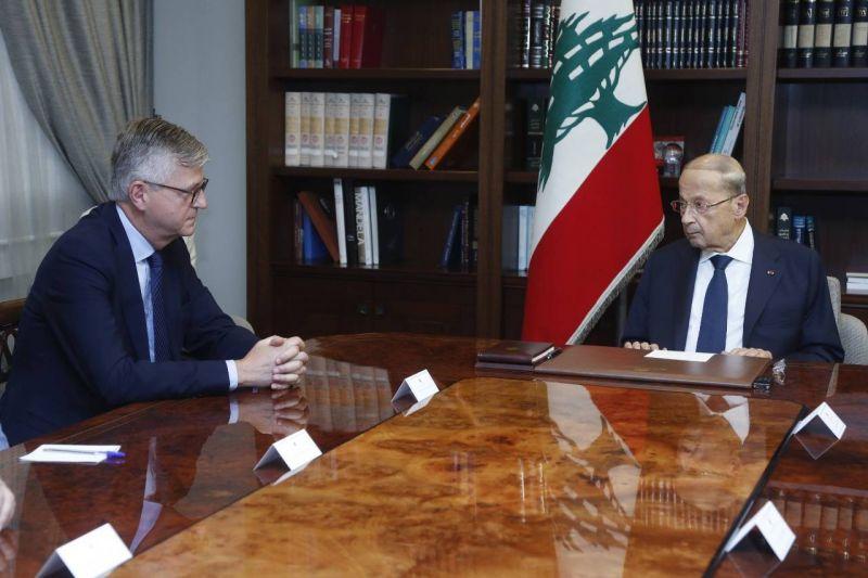 Aoun : Le Liban souhaite la reconduction du mandat de la Finul