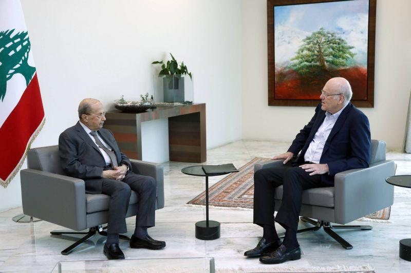 Mikati : J'ai le sentiment que Aoun a accepté mes propositions