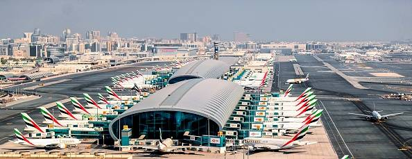 Légère collision entre deux avions à l'aéroport de Dubaï