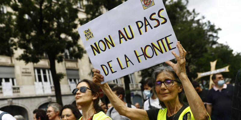Manifestations anti-pass sanitaire : RSF appelle à