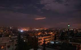 La défense syrienne a intercepté lundi soir des missiles israéliens