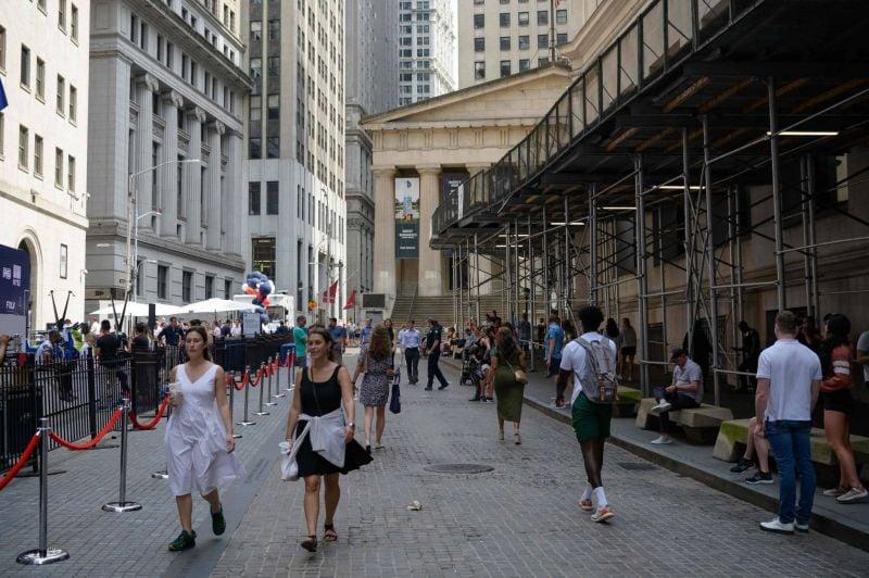 L'économie américaine a retrouvé au 2e trimestre son niveau d'avant-crise