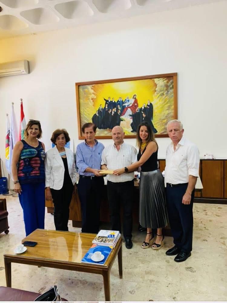 Les Rotary Clubs d'Aix-en-Provence-Mazarin et de Zghorta au secours d'élèves nécessiteux
