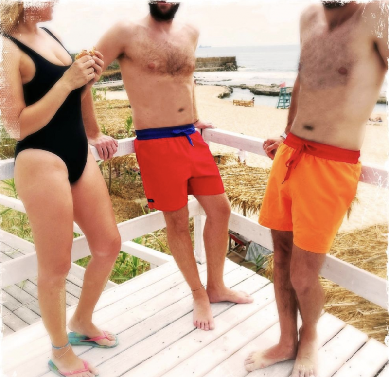 Entre banque et plage, les maillots Aquamaze